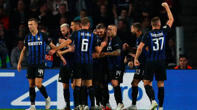 Así queda el grupo del Barça tras el triunfo del Inter ante el PSV (1-2) en Champions League