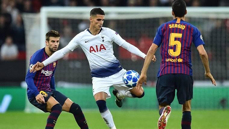 ALARMA: Busquets y Piqué dieron el susto al Barça en Wembley
