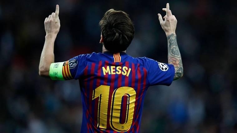 Messi se acerca a Cristiano en el 'Pichichi' histórico de Champions