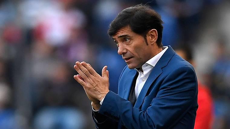 Aviso de Marcelino al Barça por su duelo contra el Valencia