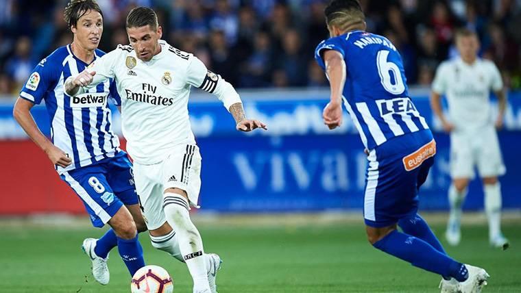 Aviso de Sergio Ramos tras la debacle del Alavés-Real Madrid