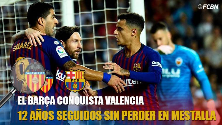 Lo único positivo que el Barça se lleva del empate en Mestalla