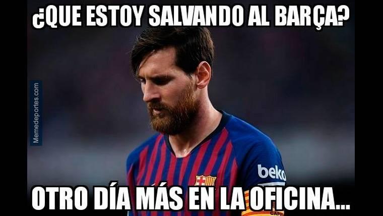 Estos son los mejores 'memes' del Valencia-FC Barcelona