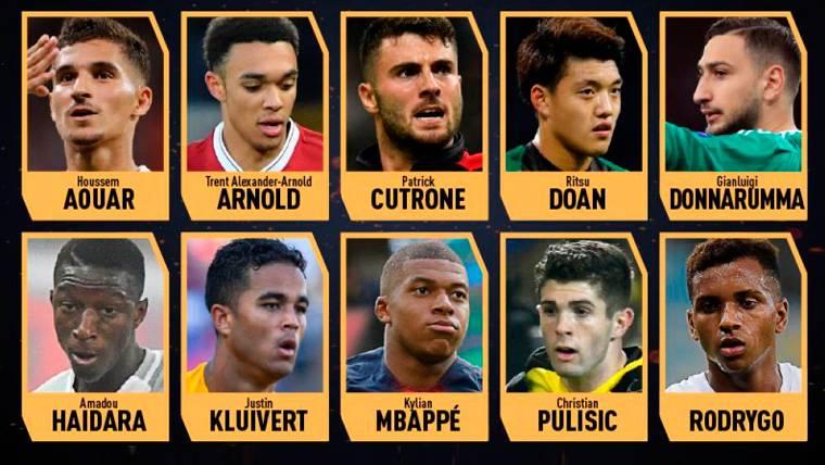 La lista de finalistas del Trofeo Kopa 2018 | @FranceFootball