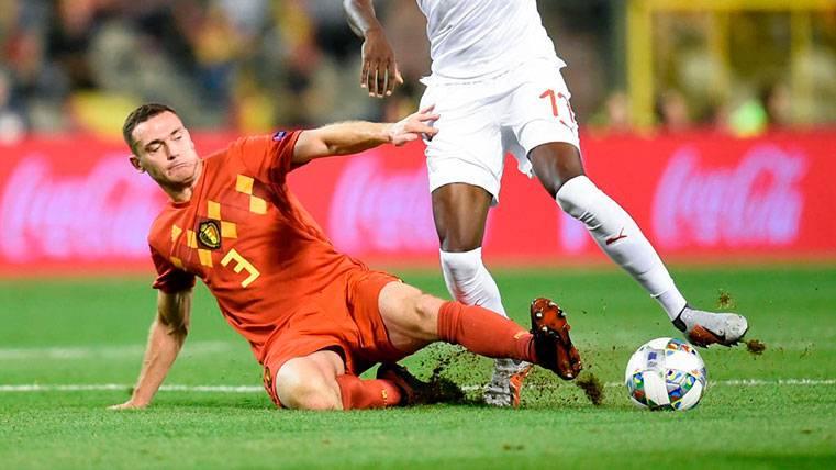 ALARMA: Vermaelen se rompe y deja la defensa del Barça en cuadro