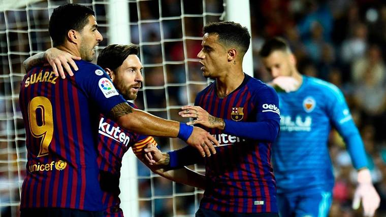 Duro calendario para el Barça hasta el último parón de 2018