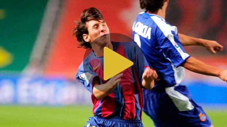 Se cumplen 14 años del debut de Leo Messi con el Barça en un partido oficial