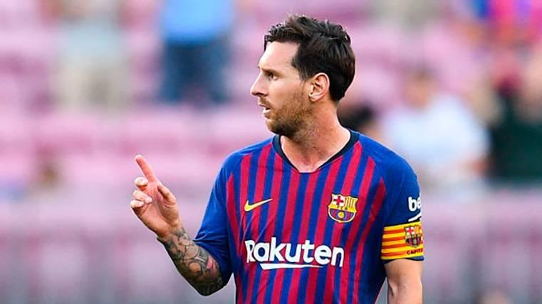 Messi, el mejor jugador del mundo