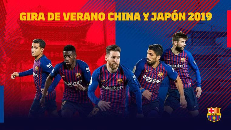 OFICIAL: El Barça volverá a Asia en la pretemporada de la 19-20