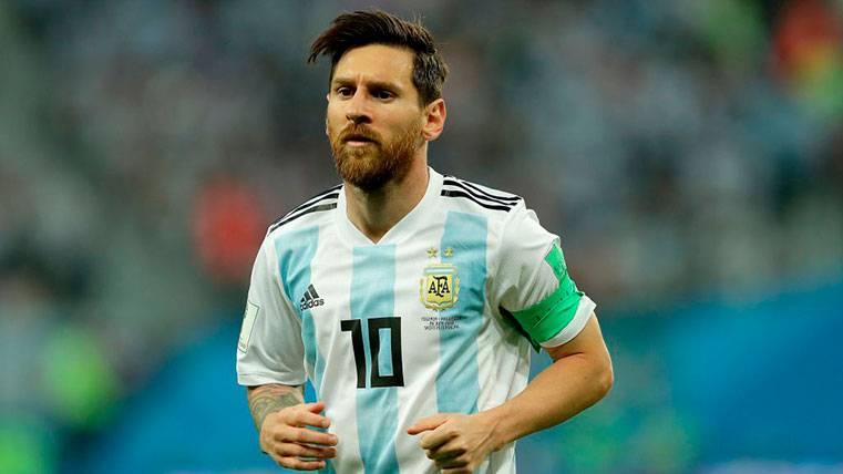 El Barça defiende a Leo Messi