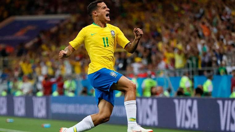 Brasil derrota a Argentina con Arthur y Coutinho titulares (1-0)