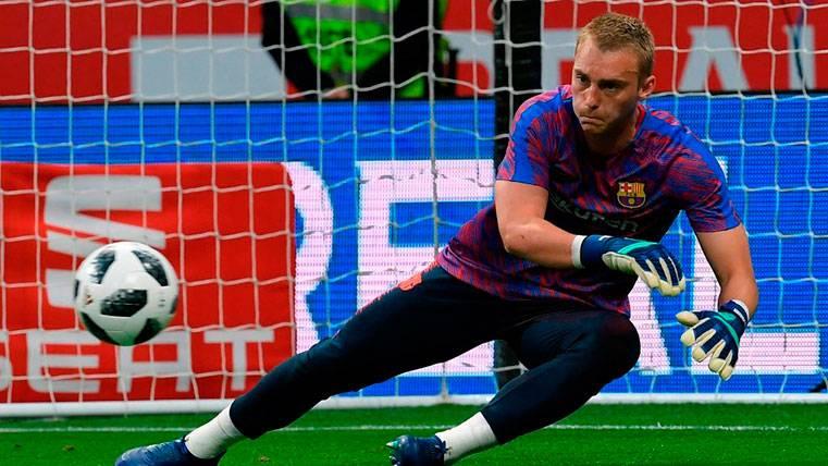Cillessen deja claro que no le gusta ser suplente en el Barça