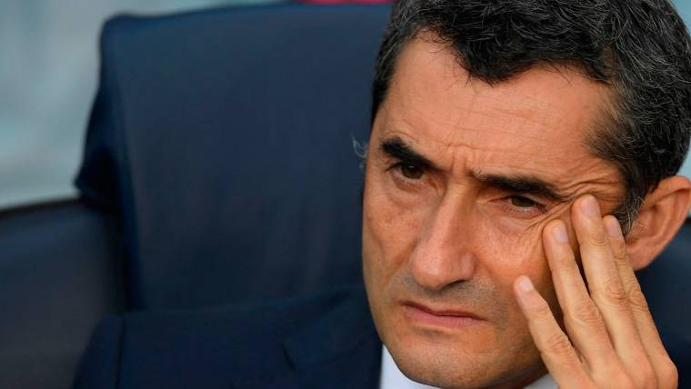 Valverde se refirió a la posible vuelta de Neymar a Barcelona