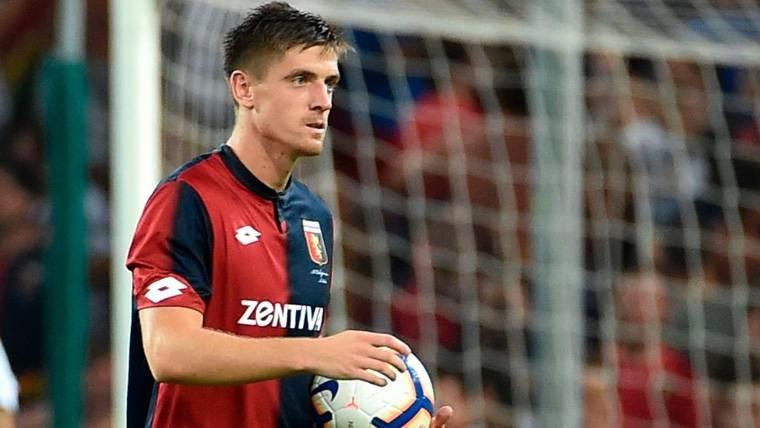 Krzysztof Piatek pasará una prueba de fuego este sábado contra la Juventus