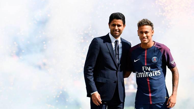 Griezmann sería el sucesor de Neymar en el PSG