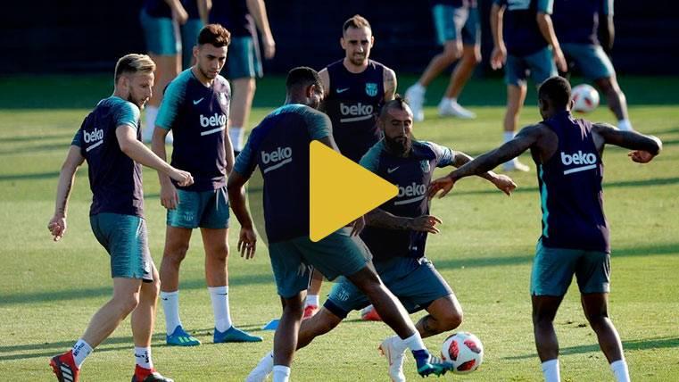 Valverde recupera a todos los internacionales para el Barcelona-Sevilla de Liga