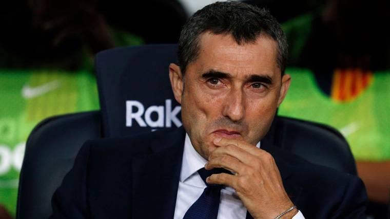 Dudas en la alineación de Valverde para el Barça-Sevilla