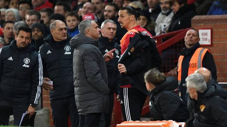 Mensaje de Ibrahimovic para defender a Mourinho a ultranza