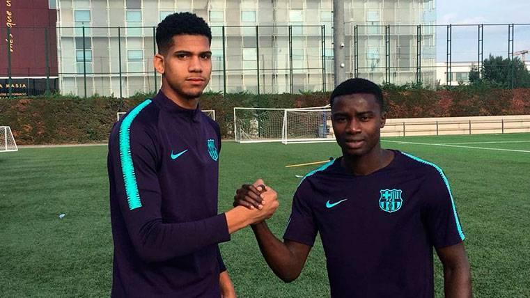 Araújo y Wagué, listos para debutar