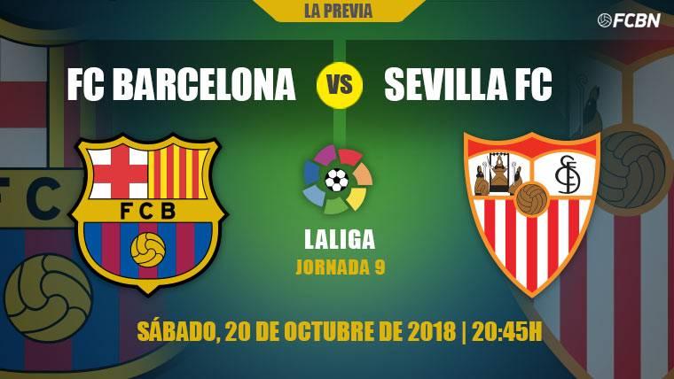 El Camp Nou pone a prueba a Barça y Sevilla con el liderato de LaLiga en juego