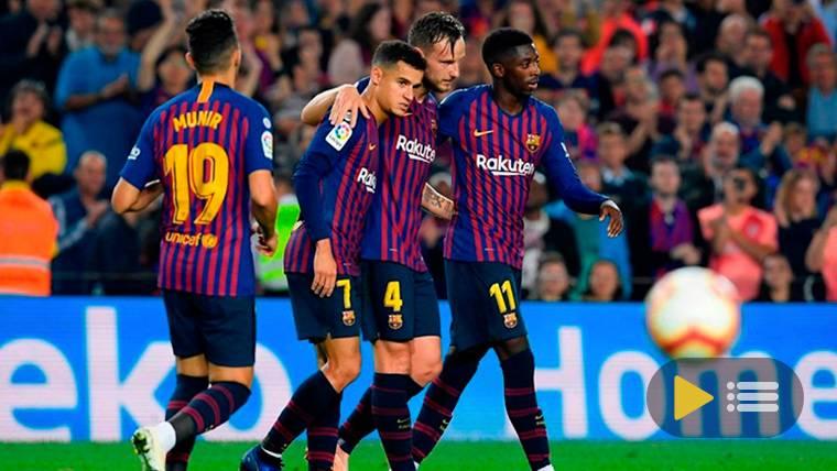 Vídeo resumen: FC Barcelona 4 Sevilla 2 (LaLiga Santander J9)