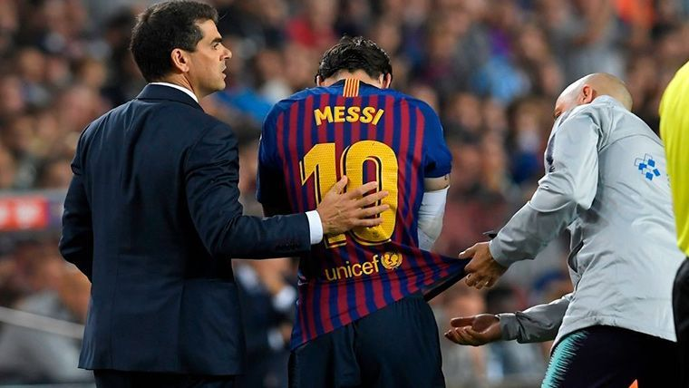 OFICIAL: ¡Messi, tres semanas de baja y se pierde el Clásico!