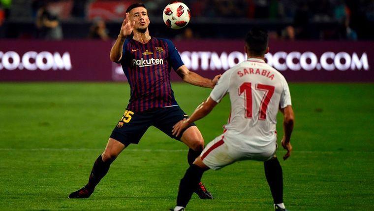 La mala suerte vuelve a cebarse con Lenglet en el Barcelona