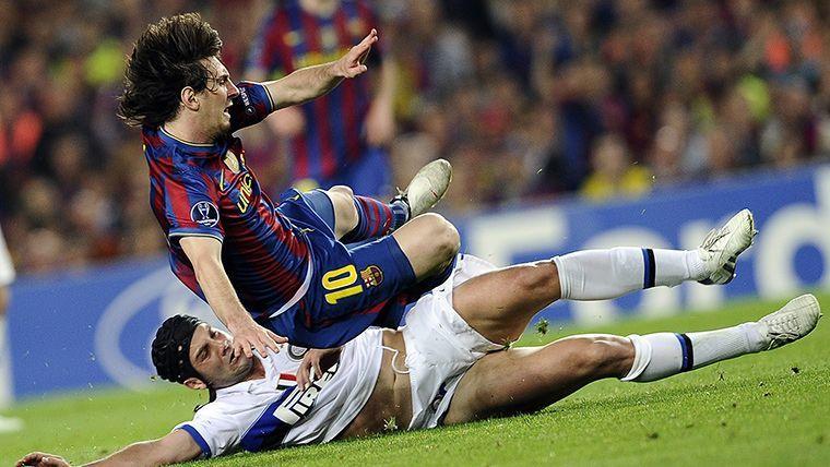 El Barça ya sabe lo que es ganar al Inter con Messi lesionado