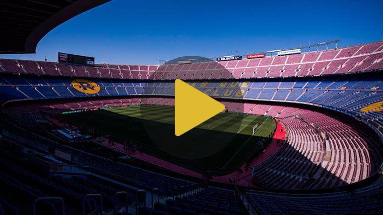El vídeo más espectacular: Así será el nuevo Espai Barça