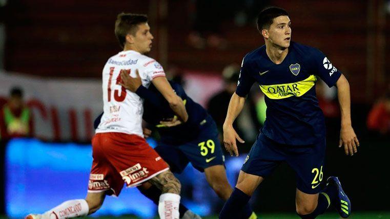 Leo Balerdi, uno de los jugadores seguidos por el Barça