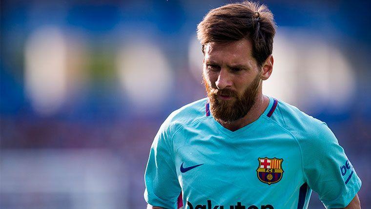 Luciano Spalletti desconfía de la ausencia de Leo Messi en el Barça