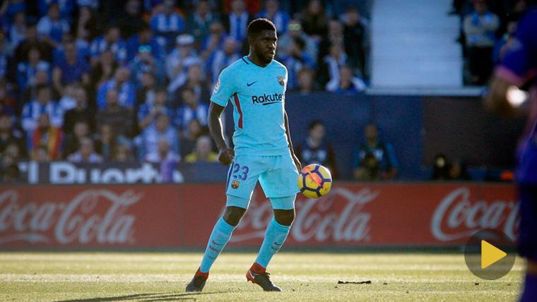 NOVEDAD: ¡Samuel Umtiti ya se entrena en la Ciudad Deportiva del Barcelona!
