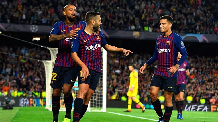 Así queda el Grupo B de Champions League: el Barcelona se asoma a los octavos