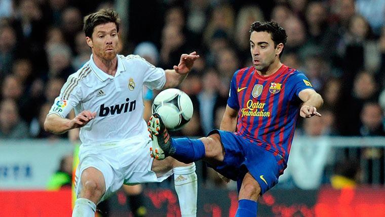 Xavi Hernández, el jugador del Barcelona con más Clásicos