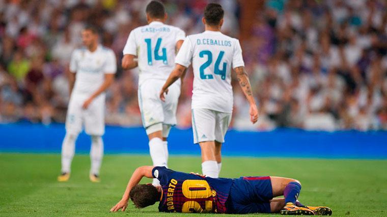 Las cuentas pendientes de Sergi Roberto con el Real Madrid