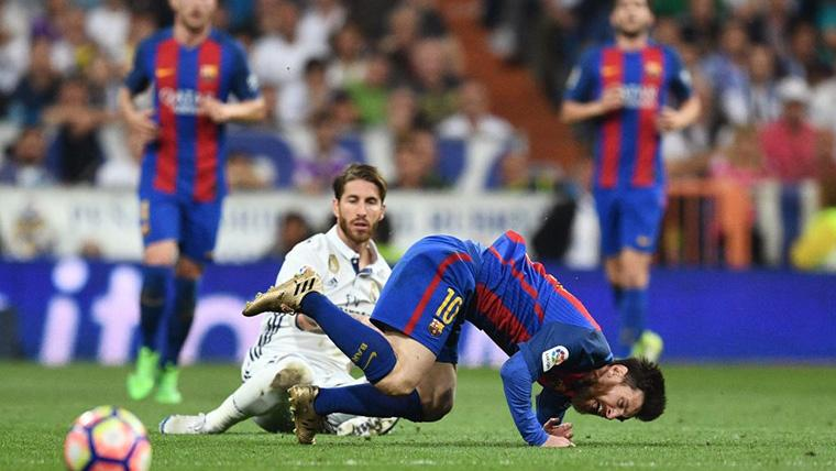 Sergio Ramos superará a Messi en número de Clásicos jugados