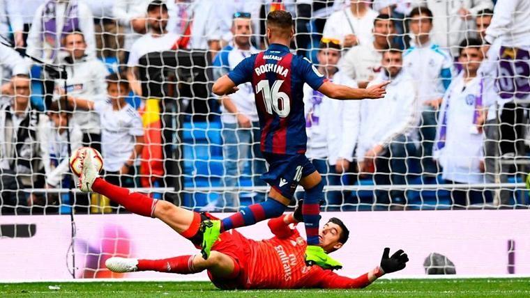 El Levante gana y el Real Madrid llegará al Clásico... ¡Octavo!
