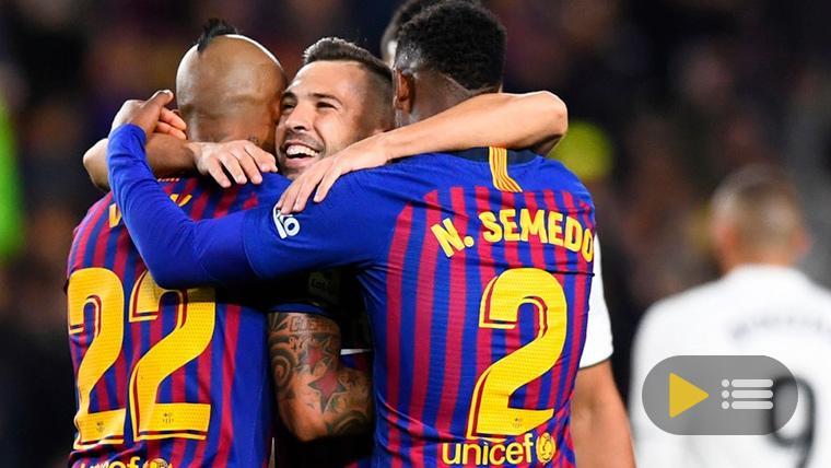 Vídeo resumen: FC Barcelona 5 Real Madrid 1 (LaLiga J10)