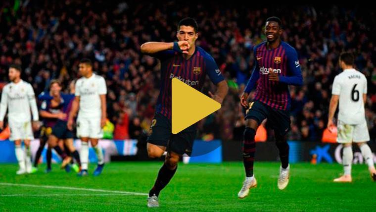 Las palabras del Luis Suárez más feliz tras deslumbrar en el Clásico