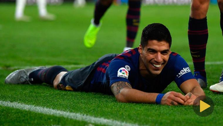 La sorprendente frase premonitoria de Suárez sobre su 'hat-trick' en el Clásico