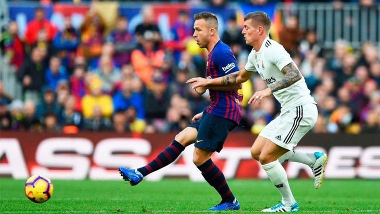 Arthur está en racha: La deslumbrante estadística que hace alucinar al Barça