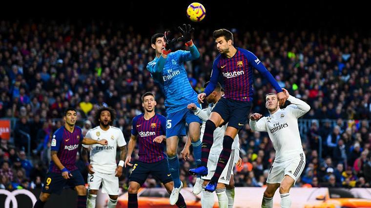 Gerard Piqué, un especialista en goleadas contra el Real Madrid