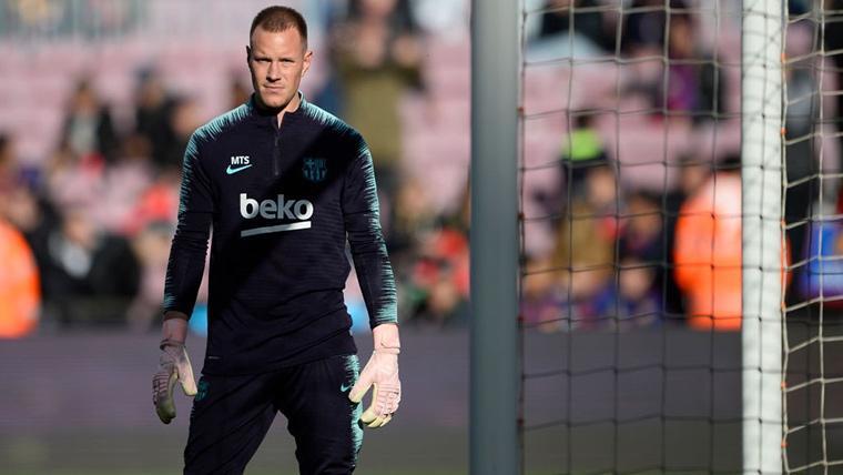 Ter Stegen 'desconecta' antes de volver a parar con el Barça