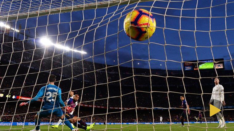 OLÉ: Así fue el 'meneo' del Barcelona al Real Madrid antes del quinto gol en el Clásico