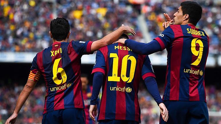 """Xavi: """"A veces pienso que Messi podrá jugar hasta los 38 años"""""""