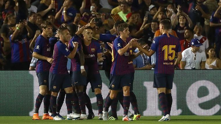 ¡Clément Lenglet da la victoria al Barça contra la Cultural Leonesa!