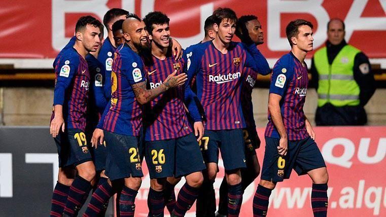 Lenglet salvó la victoria del Barcelona