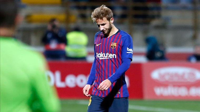 LESIÓN: El Barça confirma la lesión de Samper, que sufre una rotura muscular