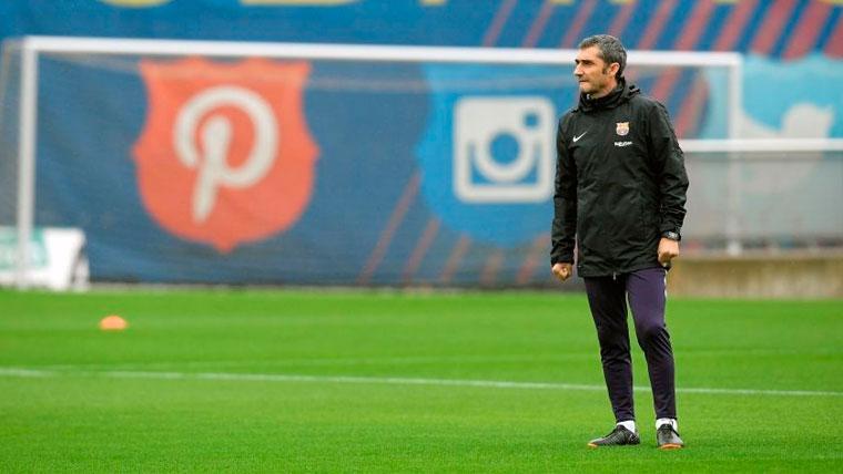 Valverde resuelve dudas: Elogios para Aleñá, ¿y advertencia para Dembélé y Malcom?