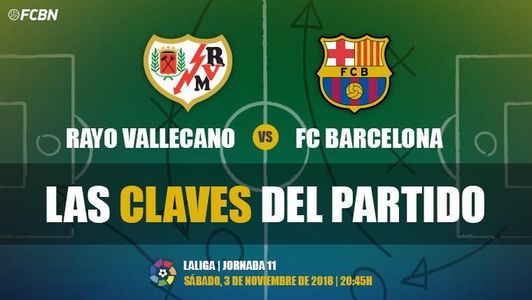 Las claves del Rayo Vallecano-FC Barcelona de LaLiga 2018-19